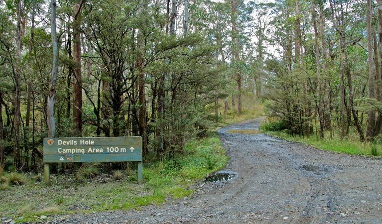 Devils Hole campground and picnic area - New South Wales Tourism