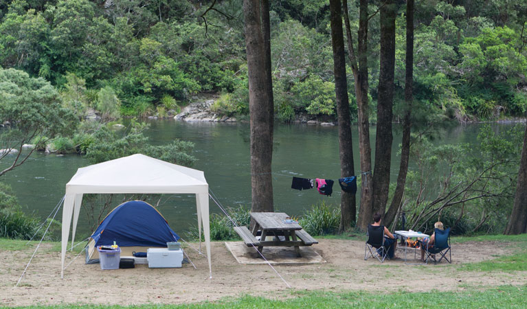 Platypus Flat campground - New South Wales Tourism