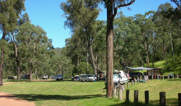 Washpools campground - New South Wales Tourism
