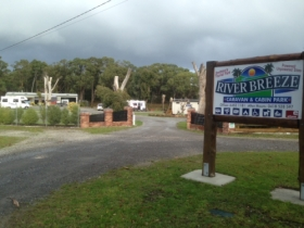 Riverbreeze Caravan  Cabin Park - New South Wales Tourism