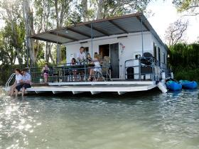 The Murray Dream Self Contained Moored Houseboat - New South Wales Tourism