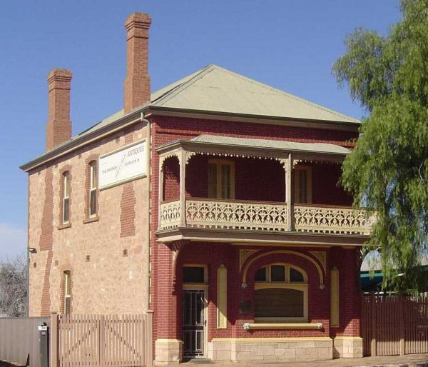 Savings Bank of South Australia - Old Quorn Branch - New South Wales Tourism