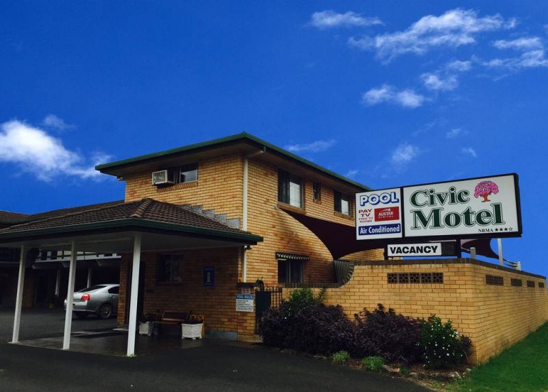 Civic Motel Grafton - New South Wales Tourism