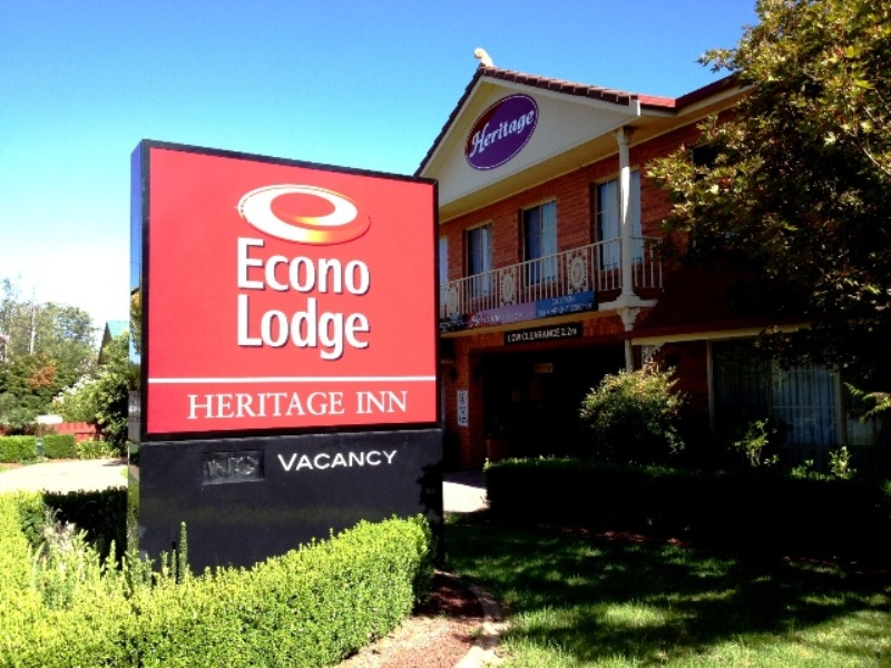 Econolodge Heritage Inn - New South Wales Tourism