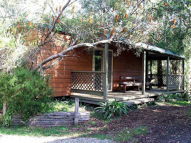 Jervis Bay Cabins  Hidden Creek Campsite - New South Wales Tourism