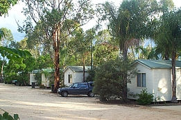 Yallakool Caravan Park on Bjelke-Petersen Dam - New South Wales Tourism