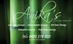Anikas Massage Therapy - New South Wales Tourism