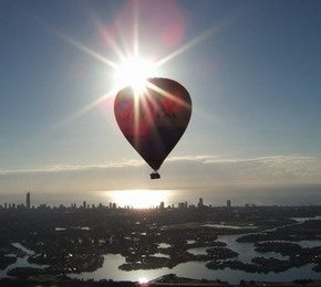 Balloon Down Under - New South Wales Tourism