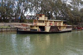 Emmylou Paddle Steamer - New South Wales Tourism