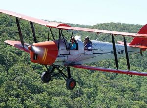 Tigermoth Joy Rides - New South Wales Tourism