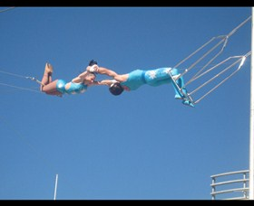 Trix Circus Flying Trapeze - New South Wales Tourism