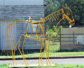 Augathella Wrought Iron Sculptures - New South Wales Tourism