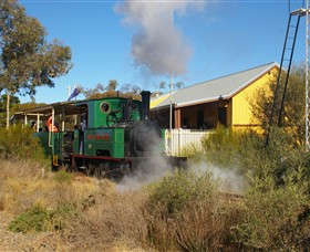 Red Cliffs Historical Steam Railway - New South Wales Tourism
