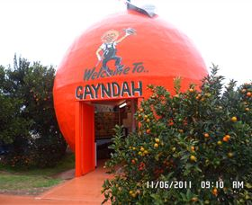 Gayndahs Big Orange - New South Wales Tourism