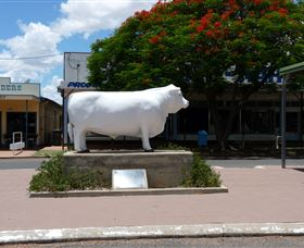 Aramac - The White Bull - New South Wales Tourism