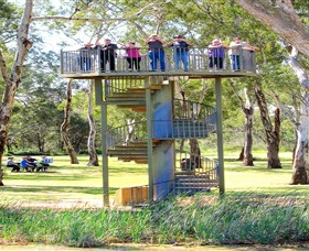 Darling and Murray River Junction and Viewing Tower - New South Wales Tourism