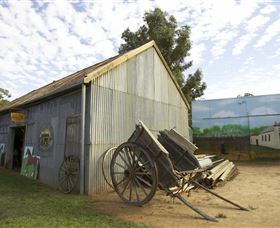 The Ned Kelly Blacksmith Shop - New South Wales Tourism