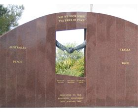 Cowra Italy Friendship Monument - New South Wales Tourism