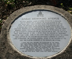 Anzac Memorial Avenue Redcliffe - New South Wales Tourism