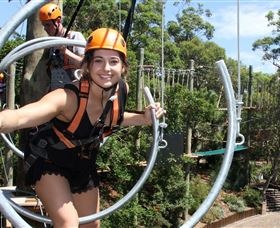 Wild Ropes at Taronga Zoo - New South Wales Tourism