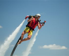 Jetpack Flyboard Adventures - New South Wales Tourism