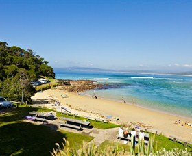 Merimbula Bar Beach - New South Wales Tourism