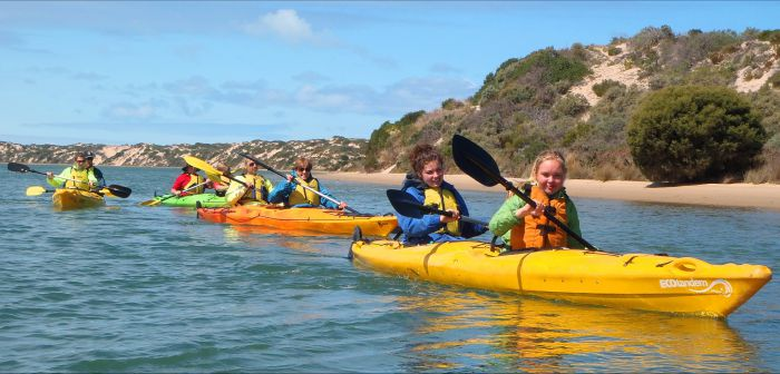 Canoe the Coorong - New South Wales Tourism