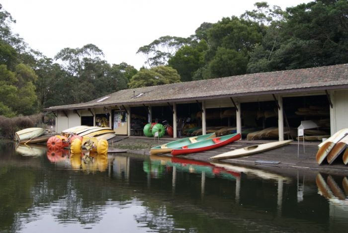 Audley Boatshed - New South Wales Tourism