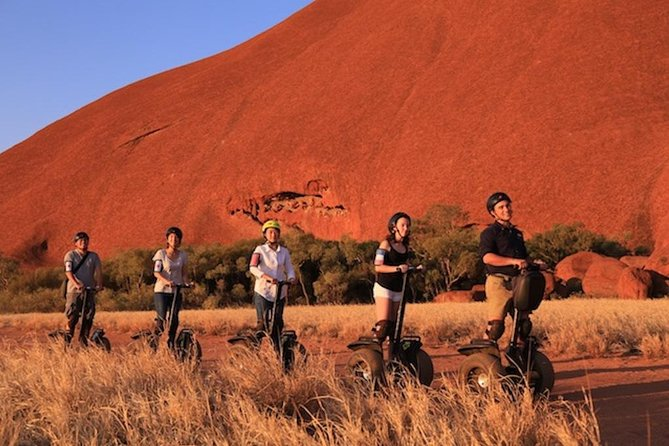 Quarter Uluru Segway  Sunset - New South Wales Tourism