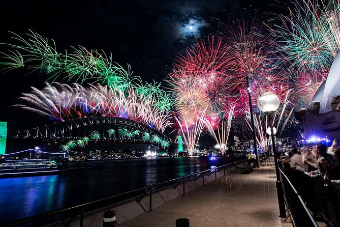 New Year's Eve under the Sydney Opera House Sails on Sydney Harbour - New South Wales Tourism