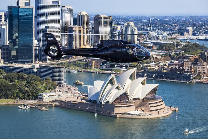 Sydney Harbour Tour by Helicopter - New South Wales Tourism