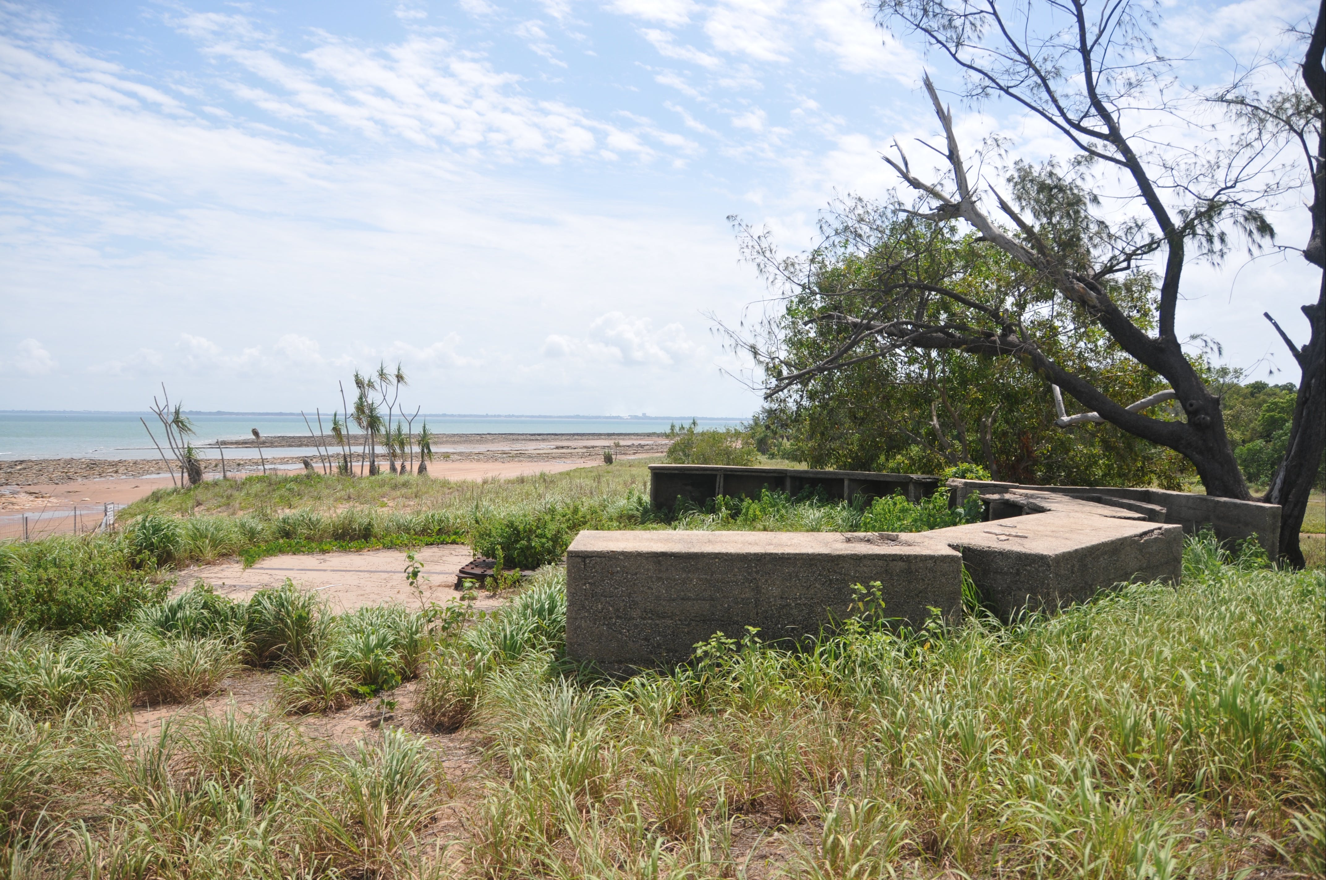 WWII Gun Emplacement Wagait Beach - New South Wales Tourism
