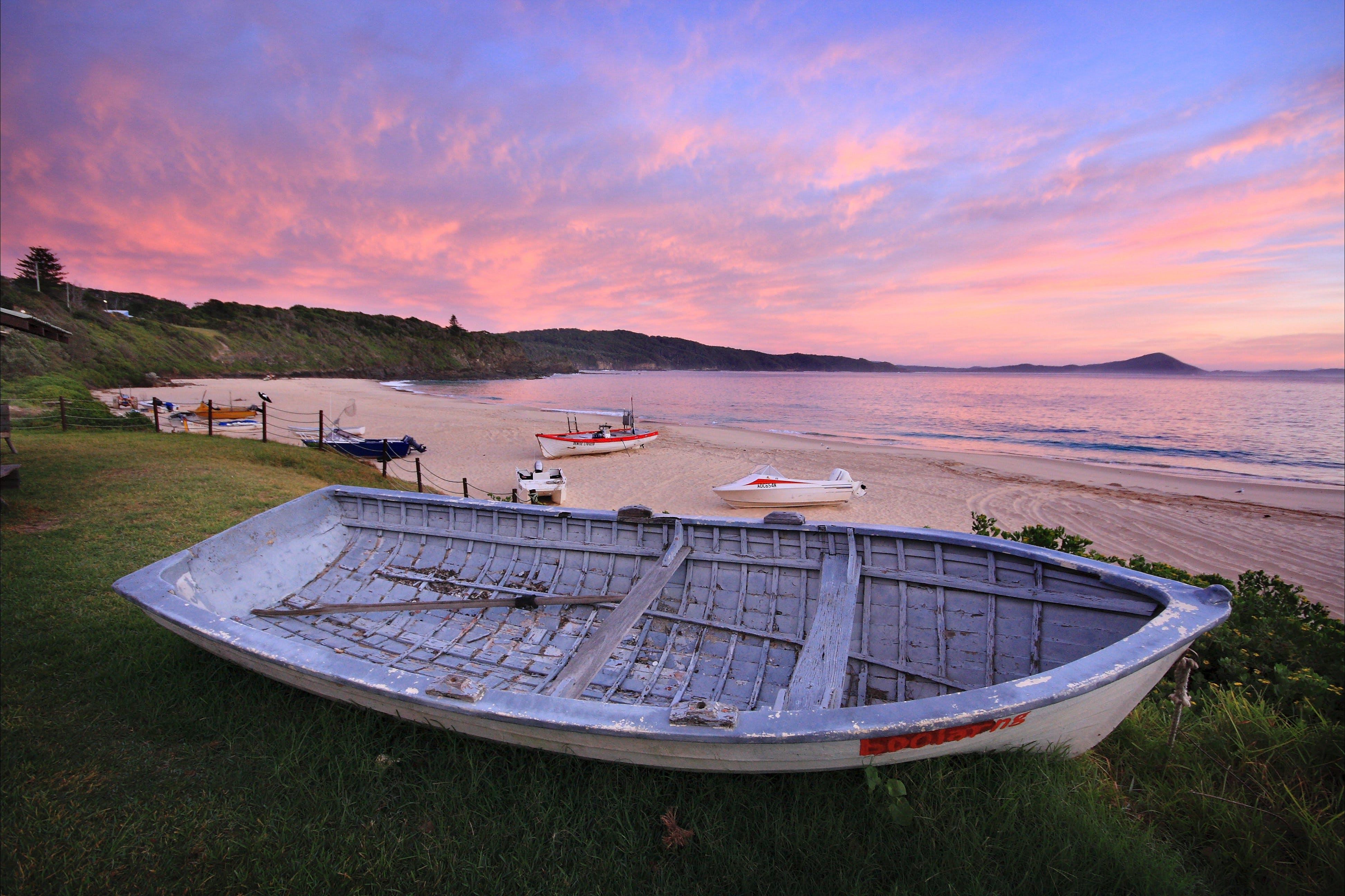 Boat Beach - New South Wales Tourism