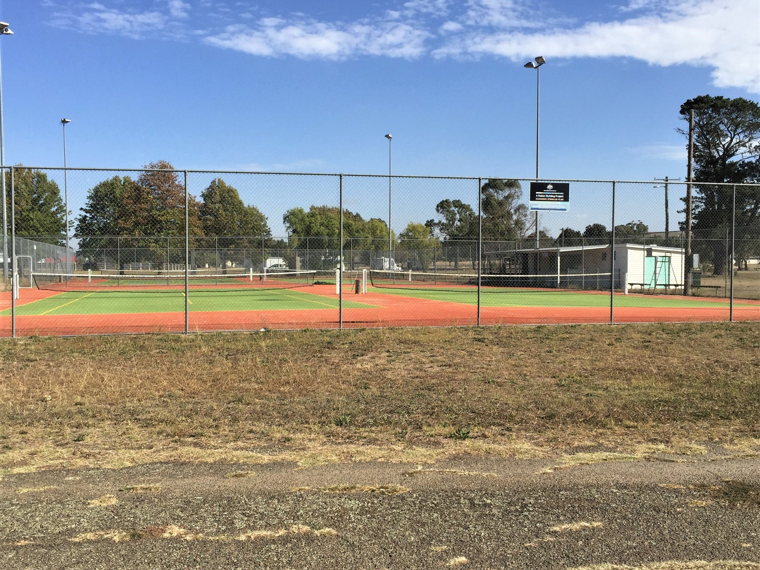 Gunning Tennis Courts - New South Wales Tourism