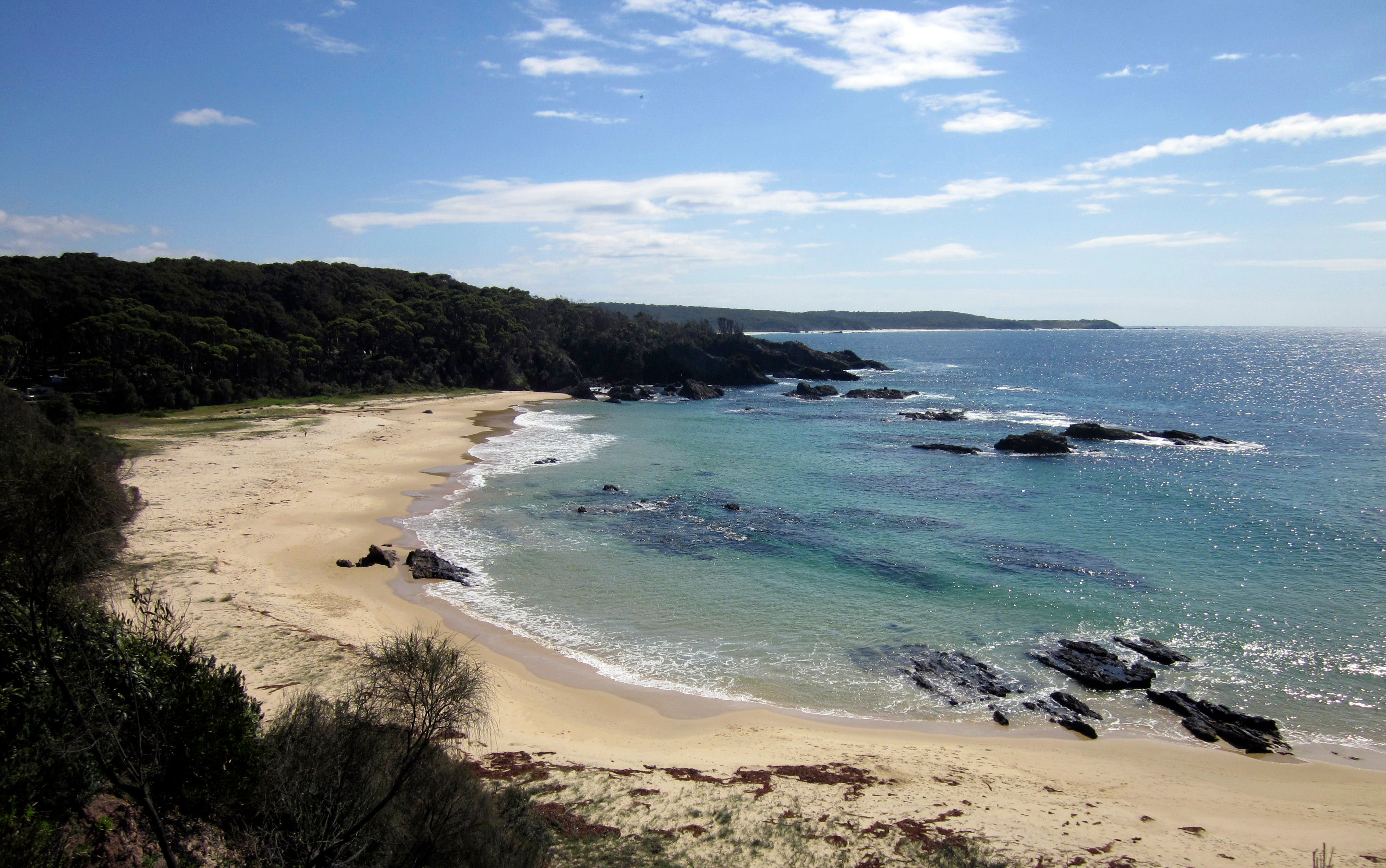 Snorkelling Mystery Bay - New South Wales Tourism