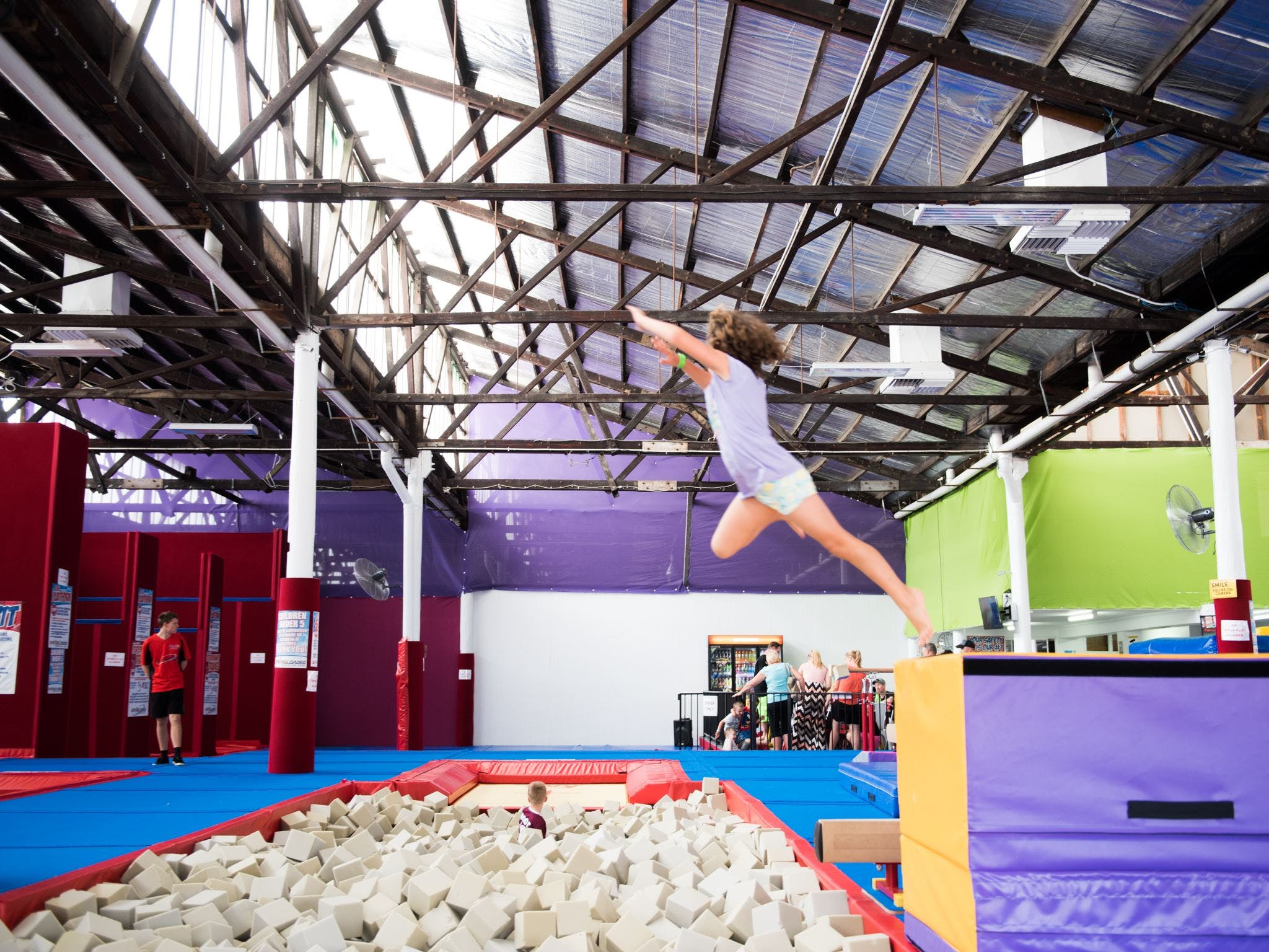 Springloaded Trampoline - New South Wales Tourism