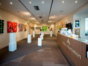 Australian National Botanic Gardens Visitor Centre Gallery - New South Wales Tourism