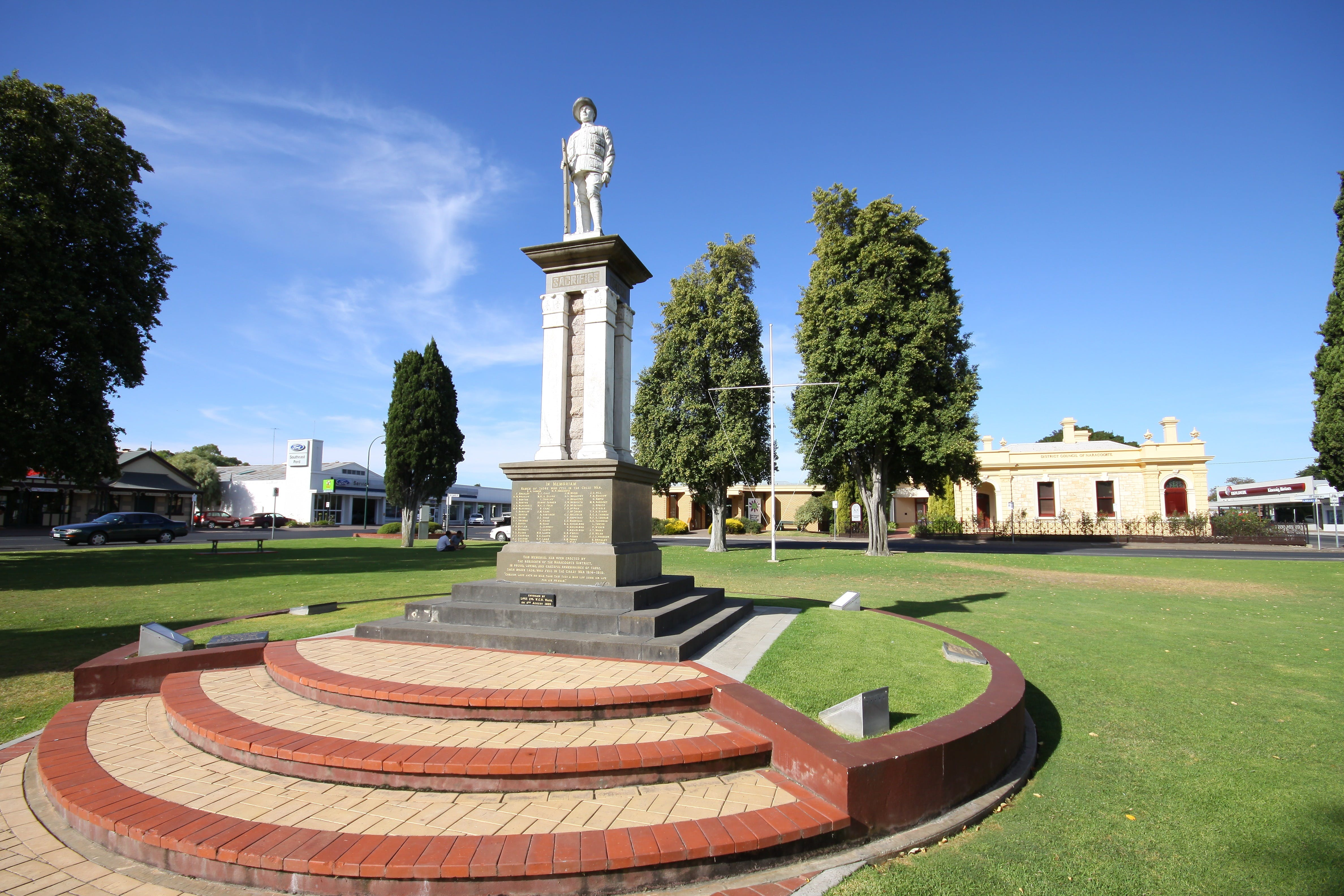 Naracoorte Town Square - New South Wales Tourism
