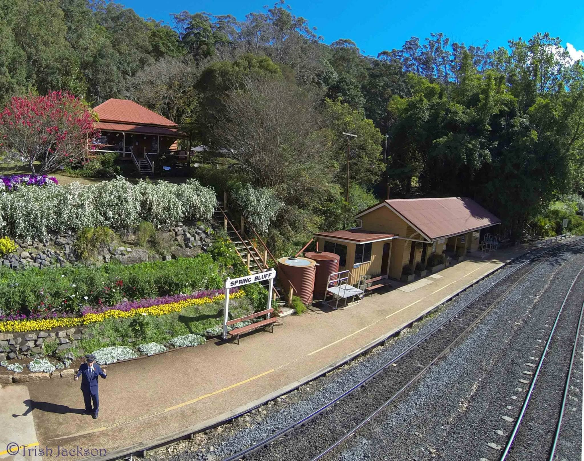 Spring Bluff Railway Station - New South Wales Tourism