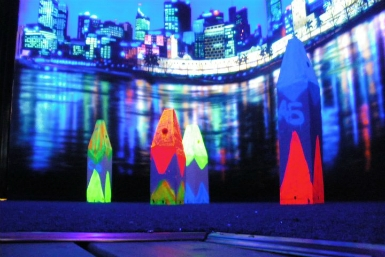 Family Fun Centres Black Light Mini Golf - New South Wales Tourism