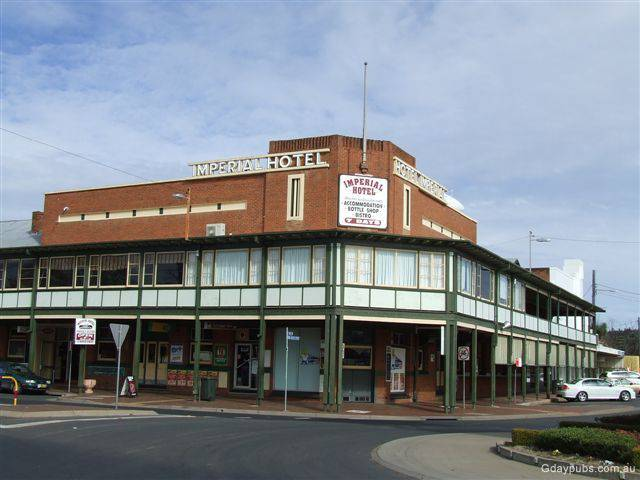 Imperial Hotel Coonabarabran - New South Wales Tourism