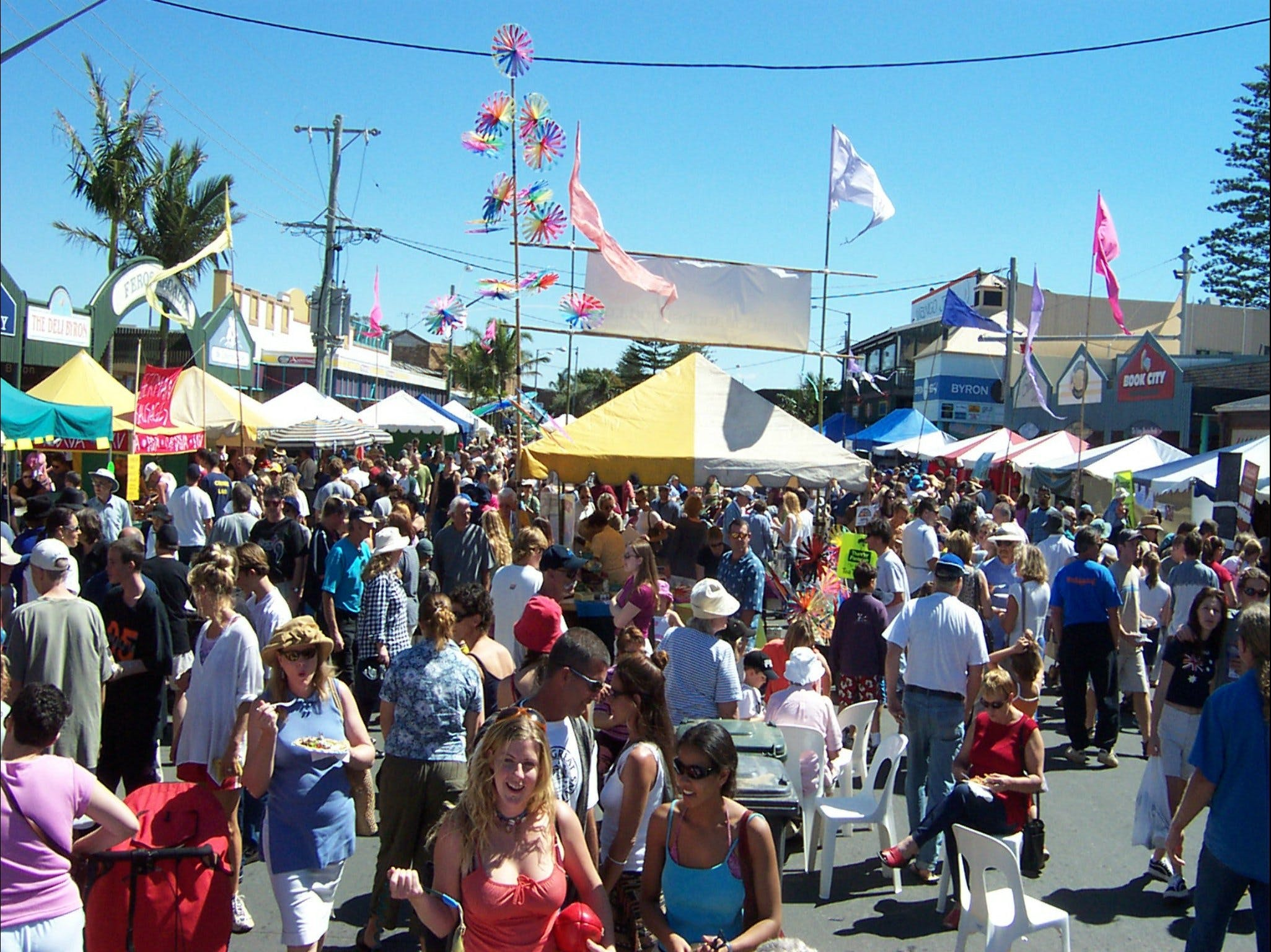 Byron Bay Community Market - New South Wales Tourism