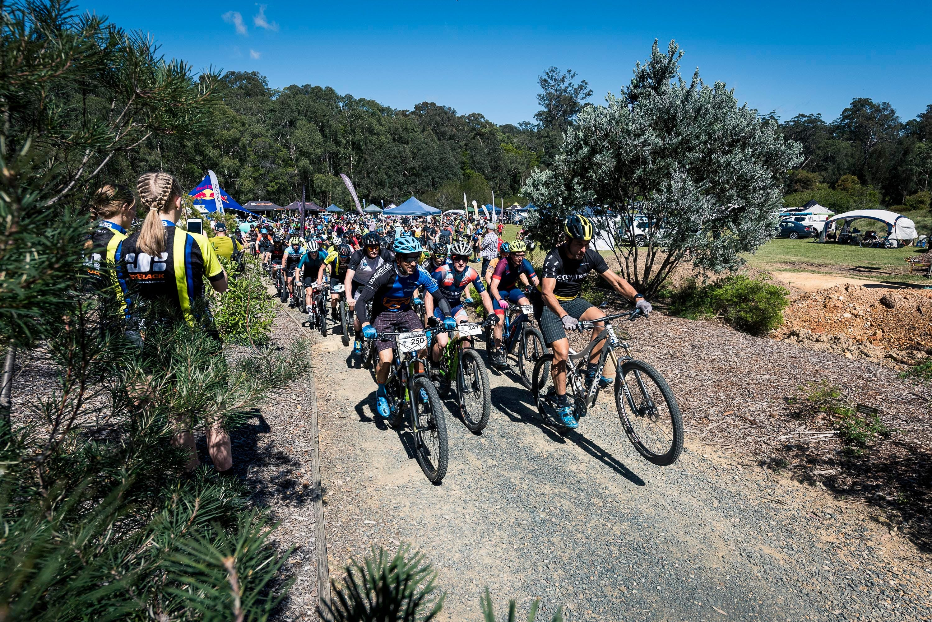 JetBlack Wild Wombat MTB Challenge - New South Wales Tourism