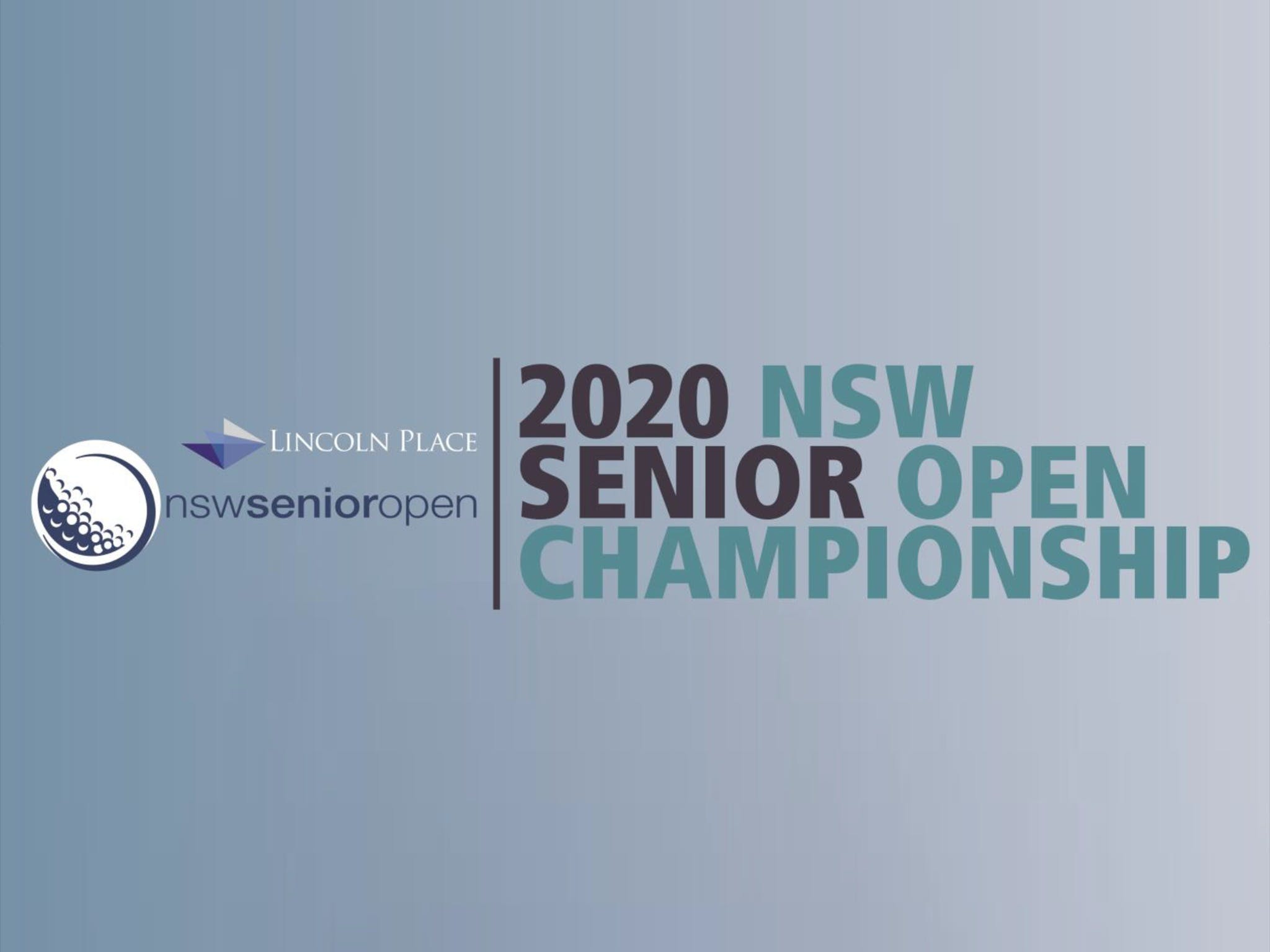 Men's NSW Senior Open - New South Wales Tourism