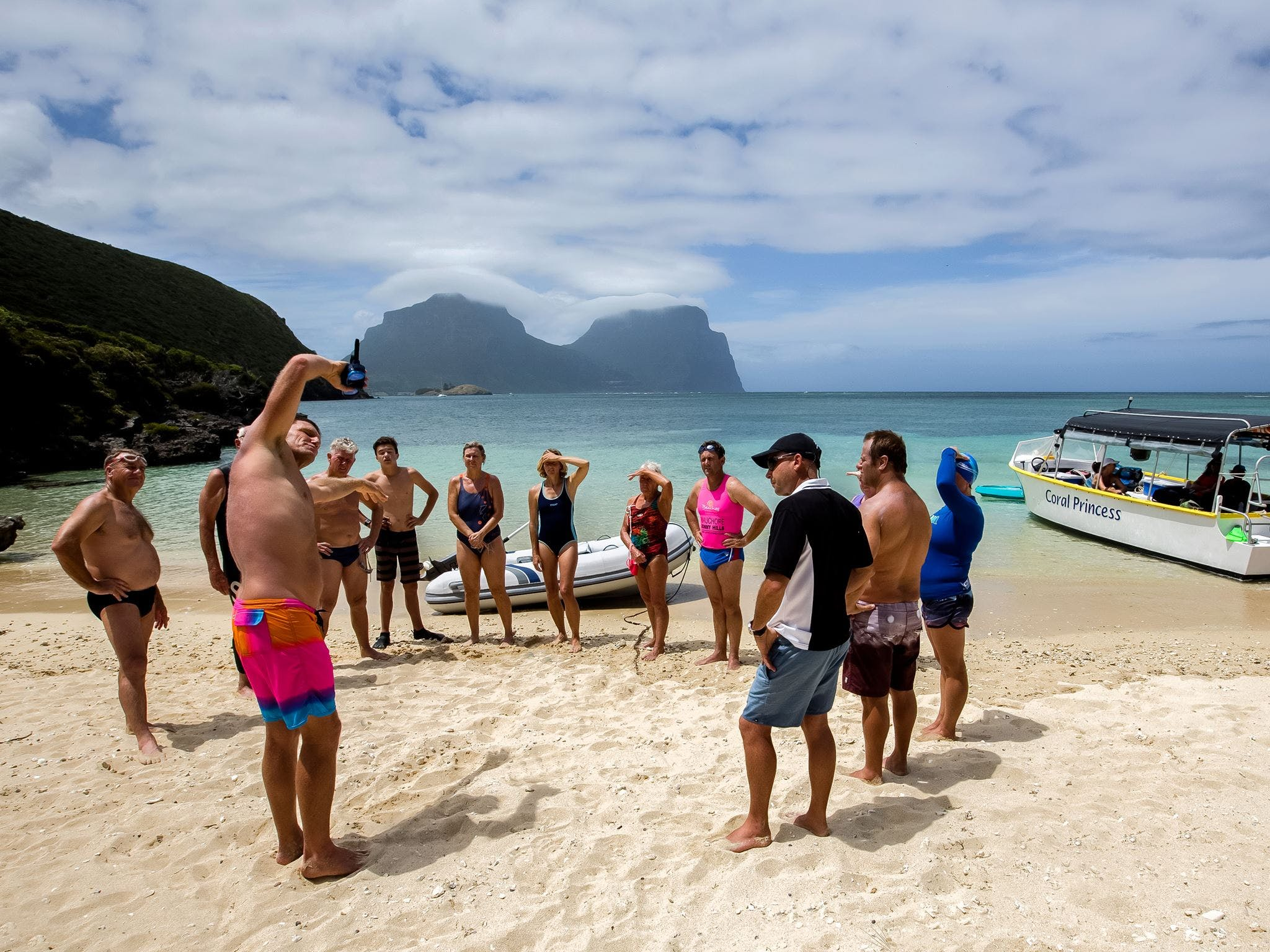 Ocean Swim Week with Trevor Hendy Pinetrees Lord Howe Island - New South Wales Tourism