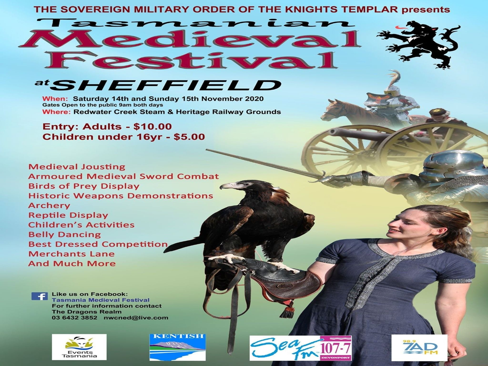Sheffield Tasmania Medieval Festival 2020 - New South Wales Tourism