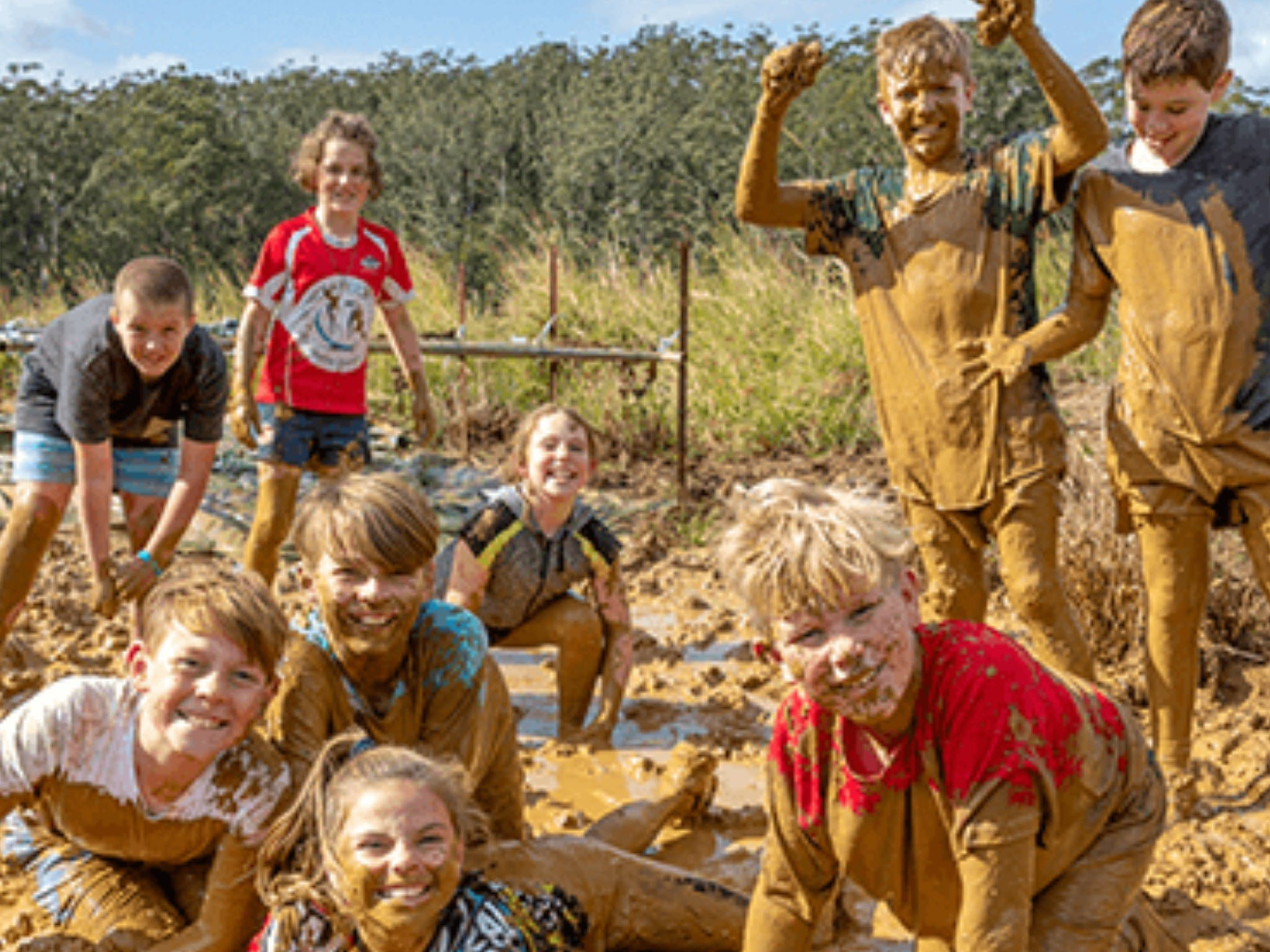 Mini Muddies Obstacle Challenge at Bunnamagoo Estate - New South Wales Tourism
