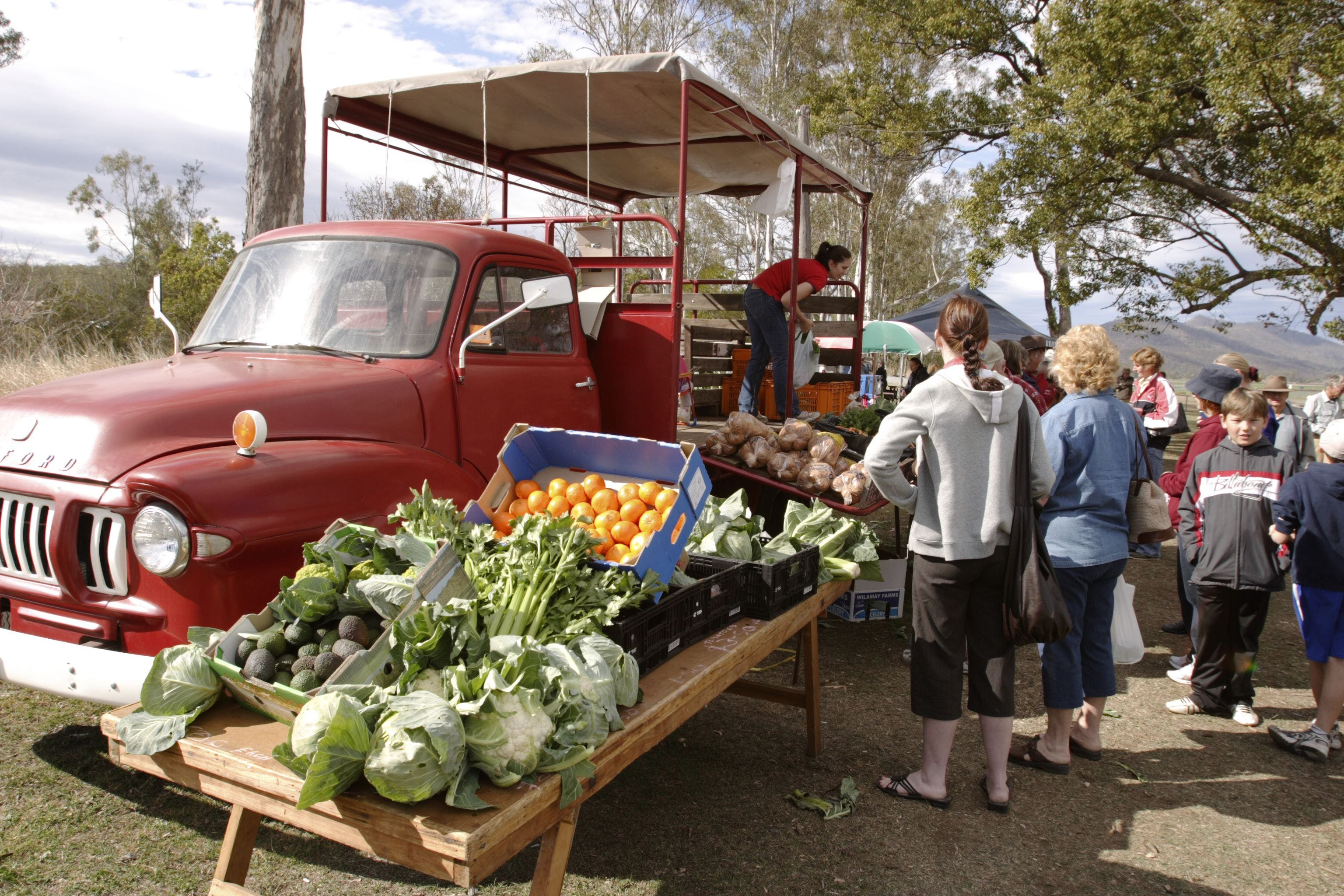 Murphys Creek Markets - New South Wales Tourism