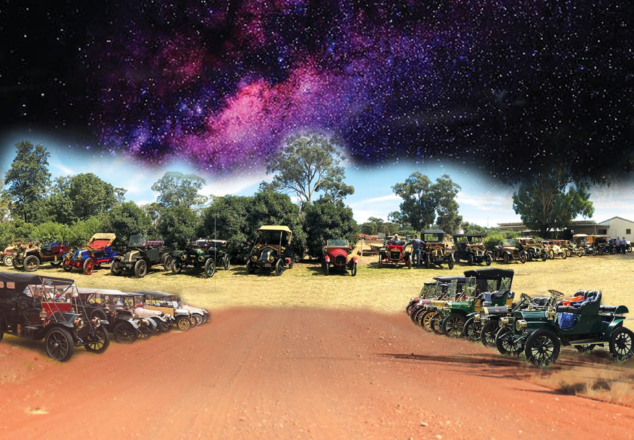 National Veteran 1 and 2 Cylinder Rally - New South Wales Tourism