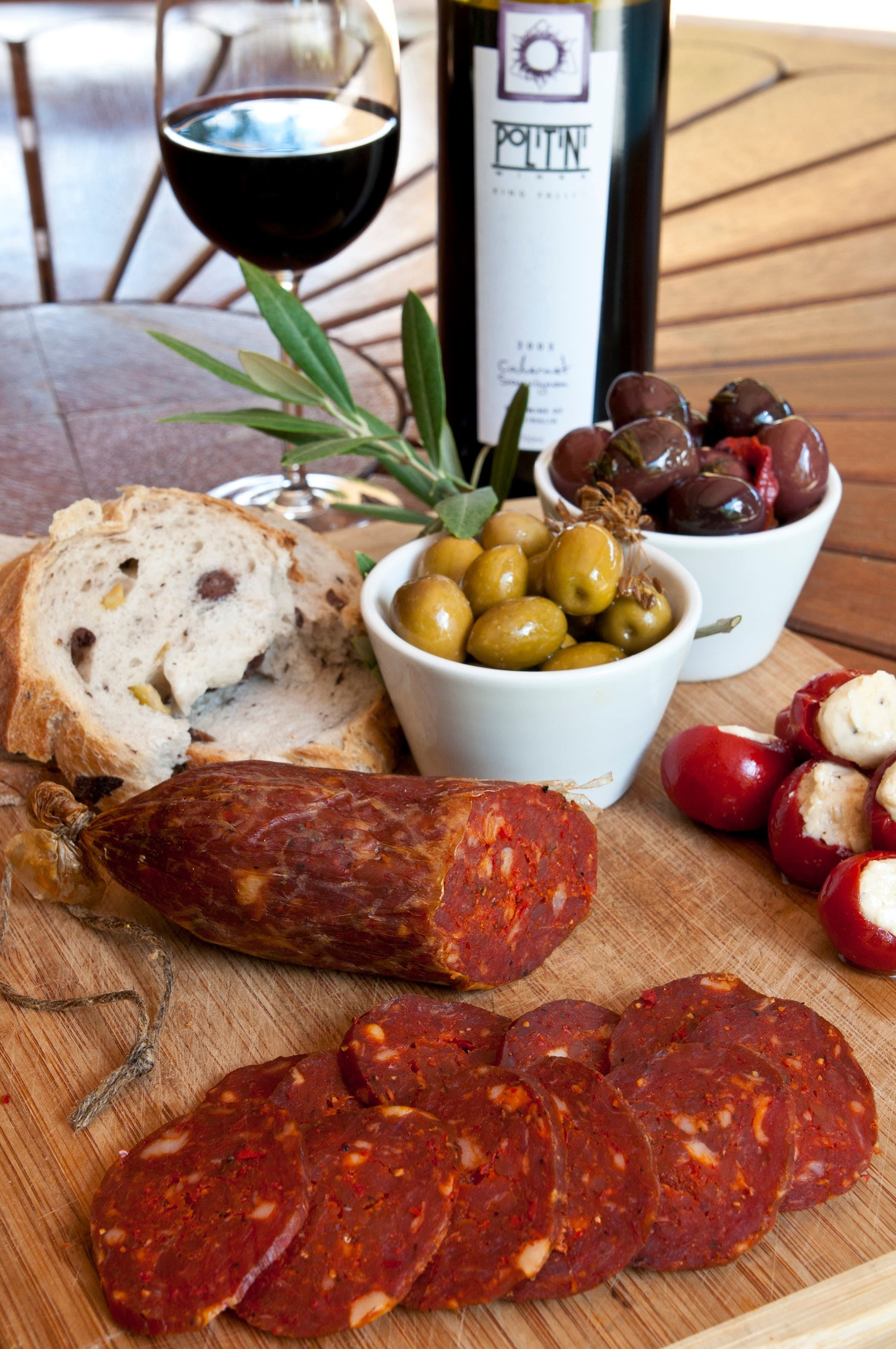 Salami and Salsicce Making classes at Politini Wines - New South Wales Tourism